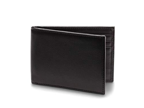 Bosca Men's Bifold Slim in Nappa Vitello Leather - RFID