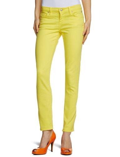 LTB - Vaqueros skinny / slim fit para mujer Amarillo (Lemon Flower 2570)
