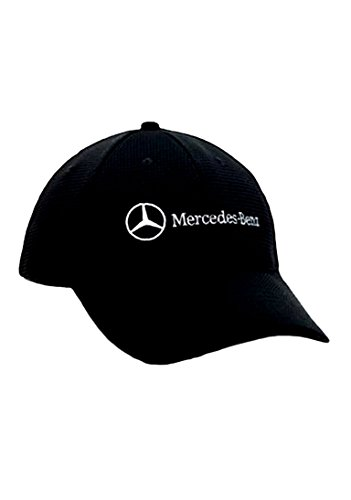 Mercedes benz polyester mesh hat cap avail navy black gray for Mercedes benz hat amazon