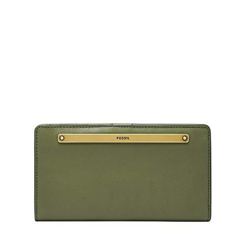 Fossil Women's Liza Leather Slim Bifold Wallet