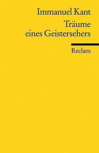 trume-eines-geistersehers-reclams-universal-bibliothek