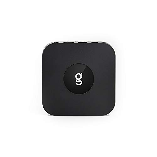 G-Box Q3 Plus TV Box (Android Nougat 7.1.2) Set-Top Box 4K/HD Media Player with WiFi/Ethernet, HDMI/USB/SD [Quad/Octo-Core 2GB/16GB] IR Remote Included by Matricom
