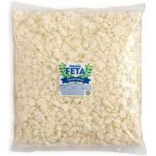 Odyssey Traditional Crumbled Feta Cheese, 5 Pound - 2 per case.