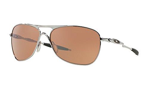Oakley Crosshair Sunglasses Chrome / VR28 Black Iridium for sale  Delivered anywhere in USA