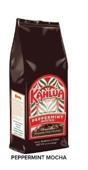 (Kahlua Peppermint Mocha Gourmet Ground Coffee 12oz)