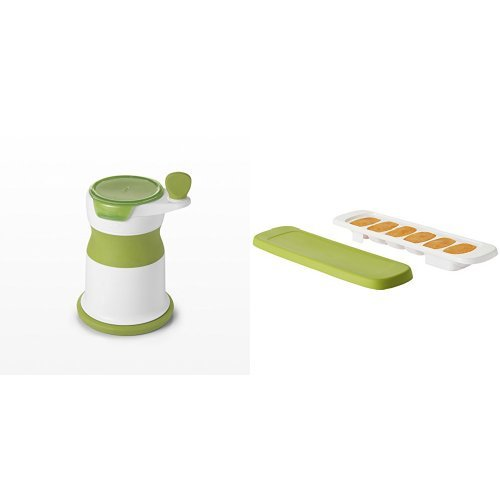 OXO Tot Mash Maker with Silicone Food Trays