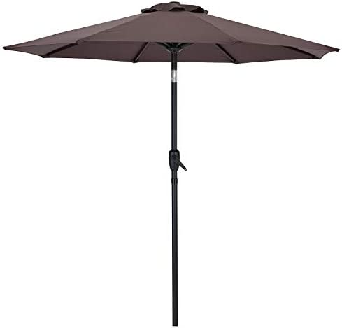 AMTALL Patio 7ft Patio Umbrella Outdoor Market Table Umbrella