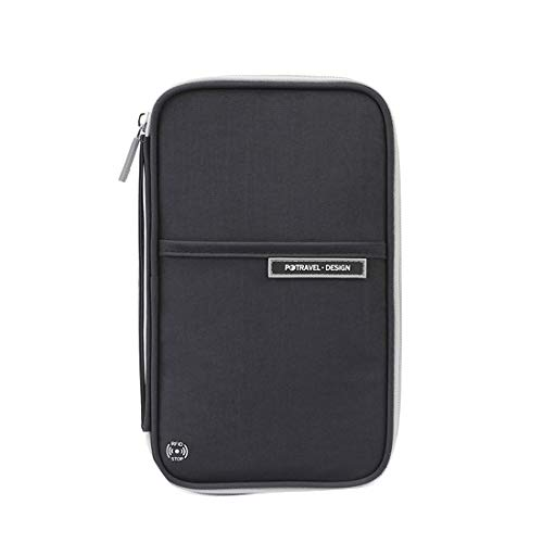 Comfysail Mulit-Purpose Travel Wallet Passport Holder Card Cash Organiser with Hand Strap …