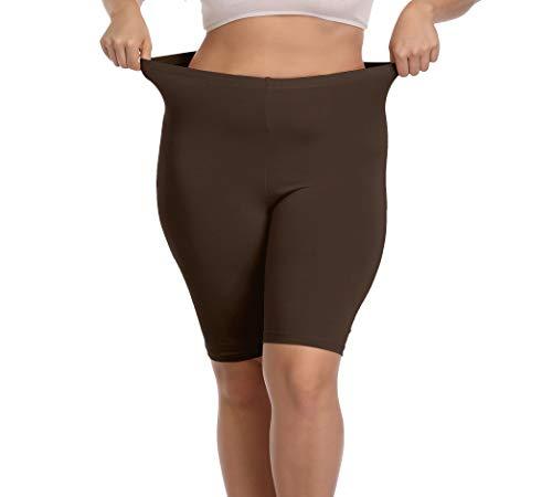 身材微胖的打底裤少女,看上去也很瘦很美丽