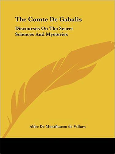 The Comte De Gabalis: Discourses On The Secret Sciences And Mysteries