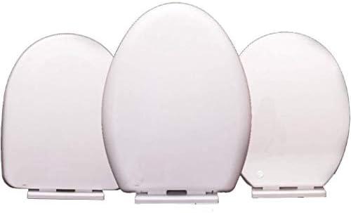 Yxsd ミュートクイックリリーストップ付き便座互換性の便座はU/V / Oシェイプトイレ1秒解体超耐性トイレのふたをマウント
