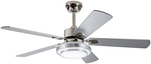 Andersonlight Fan Modern LED Indoor Stainless Steel Ceiling Fan