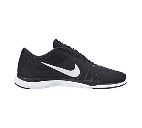 Scarpe 6 Nero Bianco Larga 6 Donne Nike Flessione Ginnastica Ci 5 Delle Da Trainer Formato 1xCwPqHX