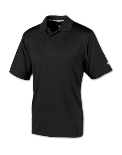 Champion Double Dry Ultimate Polo Medium Black ()