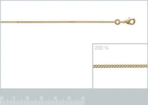 """ISADY - Lynéa Gold """" S """" - Pendentif - Initiale Lettre Alphabet - Plaqué Or 750/000 (18 carats) - Chaîne incluse - Longueur 40 cm"""