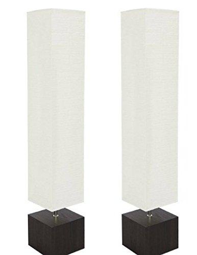 Dark Wood Floor Lamp - Mainstays Floor Lamp Dark Wood Finish (2 Pack Lamp Only)