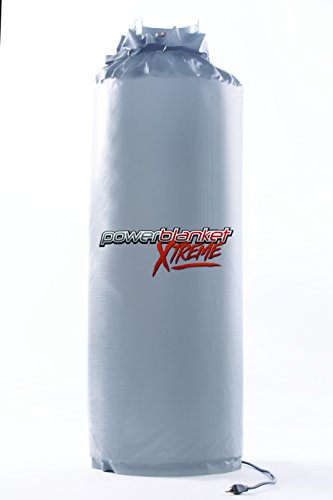 Powerblanket Xtreme GCW100G Insulated Gas Cylinder Warmer w/rugged alloy vinyl shell, Designed for 100 Pound Tank - Propane Tank Heater by Powerblanket (Image #3)