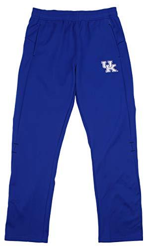 Outerstuff NCAA Men's NCAA Kentucky Wildcats Helix Track Pant, Blue X-Large
