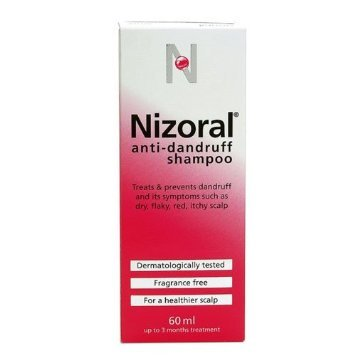 2 X Nizoral Anti Dandruff Shampoo -60ml