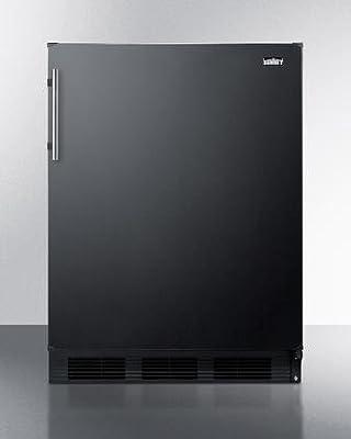Summit FF63BBIADA Refrigerator, Black