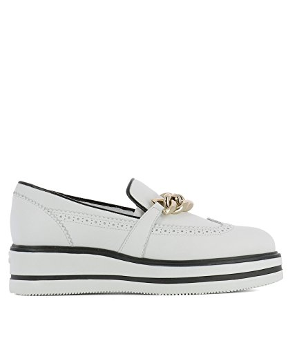 Hogan Slip On Sneakers Donna HXW3230Y050DU0B001 Pelle Bianco