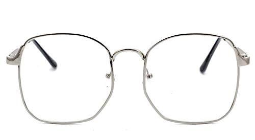 ea27e6a6a Fashion Square Metal Eyeglasses Optical Frame Unisex Eyewear with ...