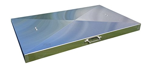 Backyard Life Gear Griddle Cover, Stainless Steel, for 28-inch Blackstone Griddle