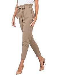 Women's Casual Loose High Waist Stretchy Skinny Slim Long...