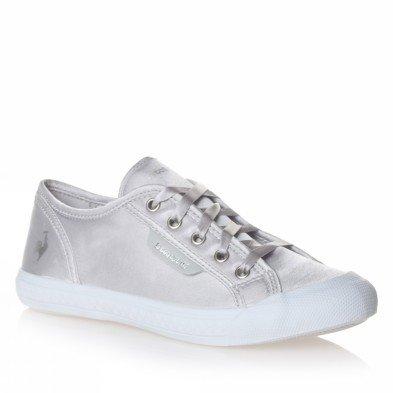 Le Coq Sportif - Zapatillas para niña plateado 32: Amazon.es: Zapatos y complementos