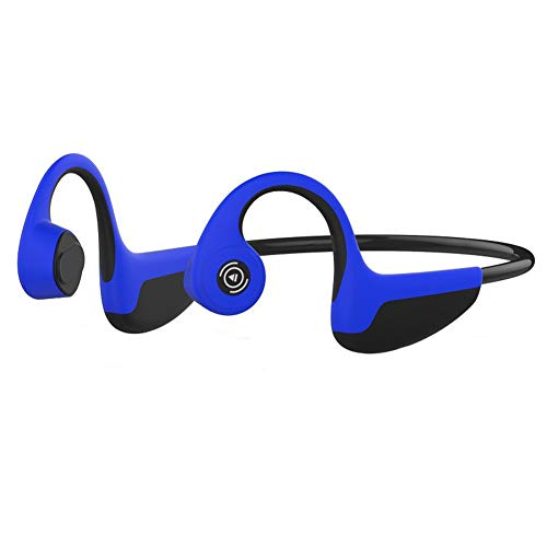 WANGLXBT Portable Bluetooth Headphone, Earphone with Microphone Bluetooth 5.0 Open Ear Wireless Headset, IPX5 Waterproof, for Running, Sports, Fitness HiFi