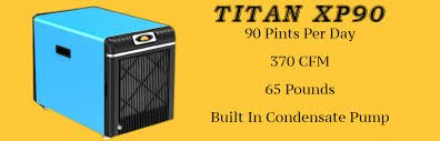 Horizon - Titan XP90 - Crawl Space Dehumidifier Comes With Built In Condensate Pump 90 Pints Per Day - 370 CFM by Horizon Dehumidifier (Image #1)