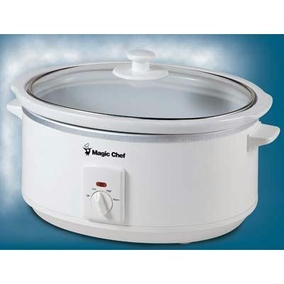UPC 665679010059, Magic Chef 6.5L Slow Cooker - White ( MCSC6WO )