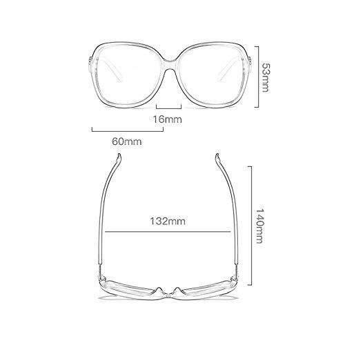 Le Big même lunettes Soleil de Box Des Star Paragraphe de Femme Nouvelles D Lunettes soleil Sport Retro zgwxOwnA6