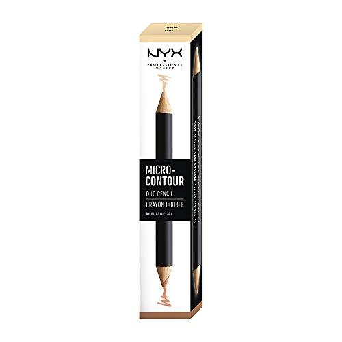 NYX PROFESSIONAL MAKEUP Micro-Contour Duo Pencil, Light, 0.1 Ounce
