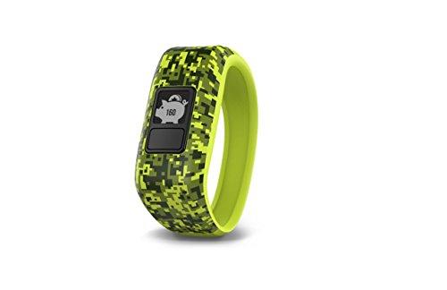 - Garmin vívofit jr, Kids Fitness/Activity Tracker, 1year Battery Life, Green, Digi Camo