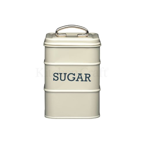 Kitchen Craft Sugar Canister 11 x 17cm Cream
