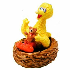 Sesame Street Big Bird Salt and Pepper Shaker Set