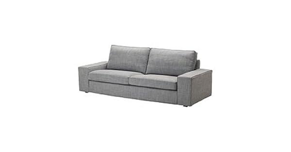 Amazon.com: IKEA KIVIK – Tres Asiento Sofá Slipcover Isunda ...