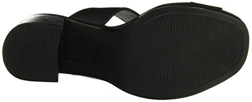 Cuple Sandalia Negro, Women's Sandals with an Ankle Strap Black (Black)
