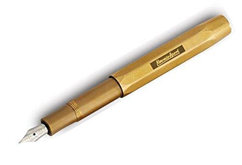 Kaweco Sport Fountain Pen Brass Nib: F