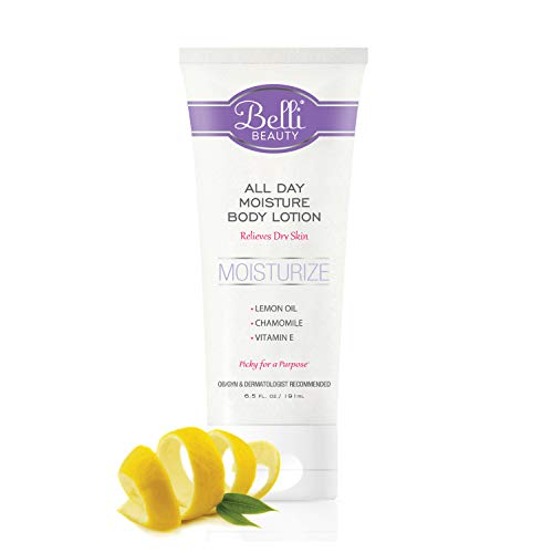Belli All Day Moisture Body Lotion - Relieves Dry Skin - OB/GYN and Dermatologist Recommended - 6.5 oz.