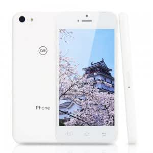 """Xiaocai X800 MTK6572 Dual Core 1.3GHz Android4.2 OS 4.0"""" IPS Screen Cellphone Smart Phone White + White (US Standard)"""