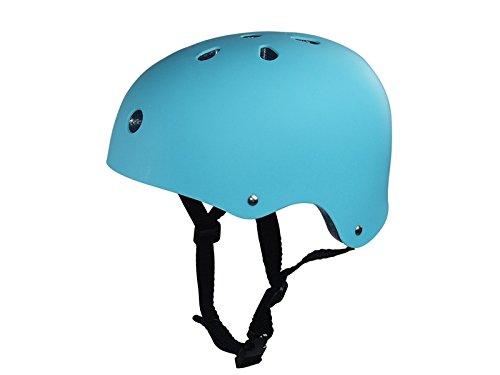 Blue Bridge Multi-Sport-Helm Kinder Schutzhelm Pflaume Form Wärmeableitung Loch Kinder Reithelm (Hellblau) Rollerblading-Schutzausrüstung