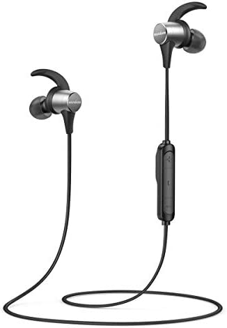 Wireless Headphones Anker Soundcore Spirit Pro, Dual EQ, 10 Hour Playtime, IP68, SweatGuard Technology, Hi-Fi Sound, Built-in Mic, Bluetooth Headphones, Sports, Workout, Gym Renewed
