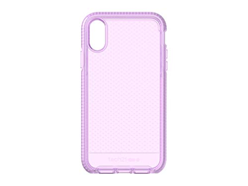 (tech21 - Evo Check Case - for Apple iPhone XR, Orchid)