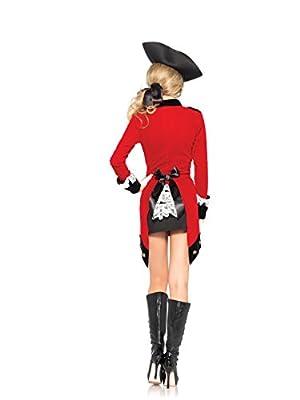 Leg Avenue Women's Rebel Red Coat