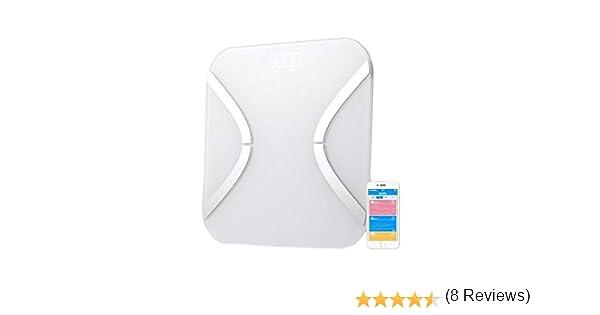 Beets BLU Báscula baño digital - báscula Bluetooth, compatible con dispositivos iPhone, iPad y Android: Amazon.es: Salud y cuidado personal
