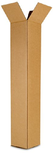 EcoBox 8 x 8 x 60 Inches Corrugated Box (E-2204)