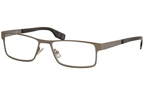 Hugo Boss Eyeglasses 0428 0R80 00 in Dark Ruthenium