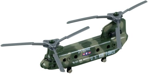 "InAir Diecast 3.5"" Chinook Supply Helicopter, - Helicopter Diecast Toy"